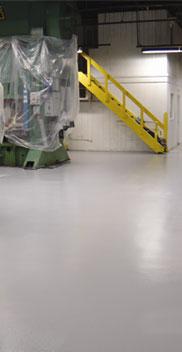 epoxy concrete floor coating