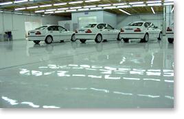 Broadcast coatings epoxy