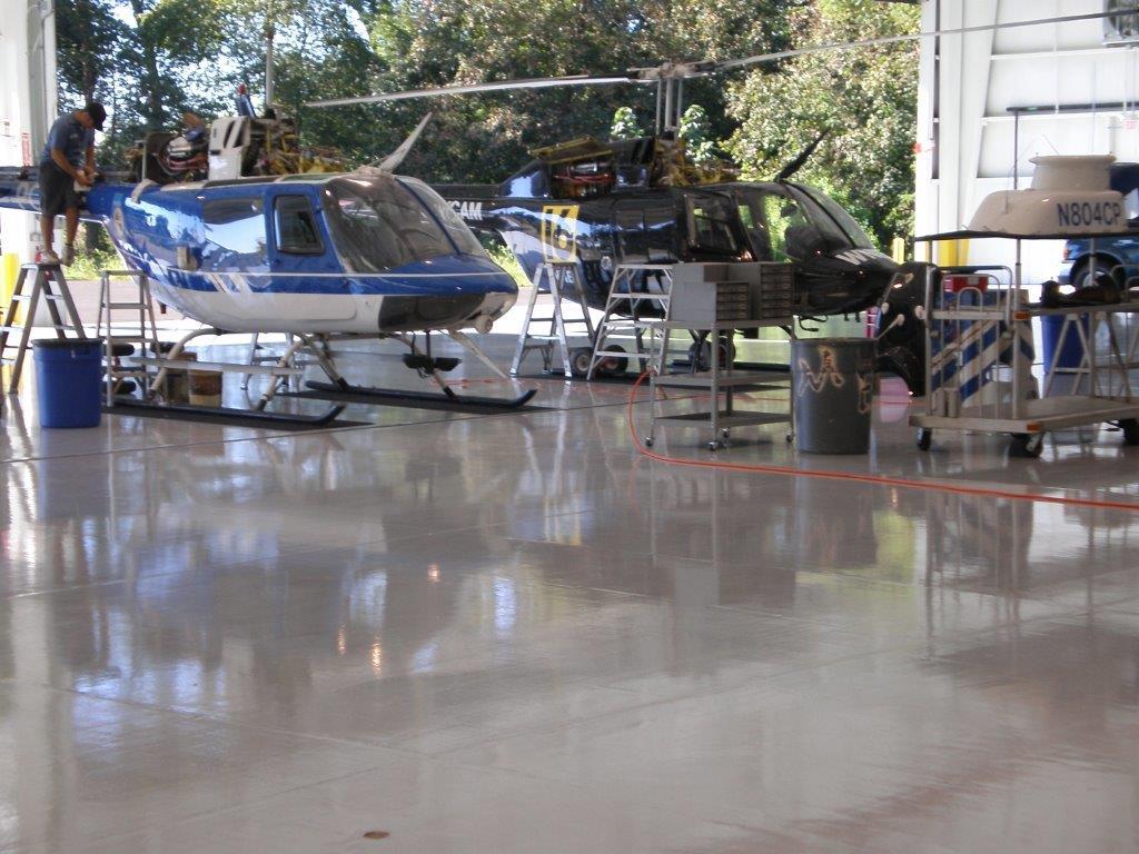 Hangar Flooring Options