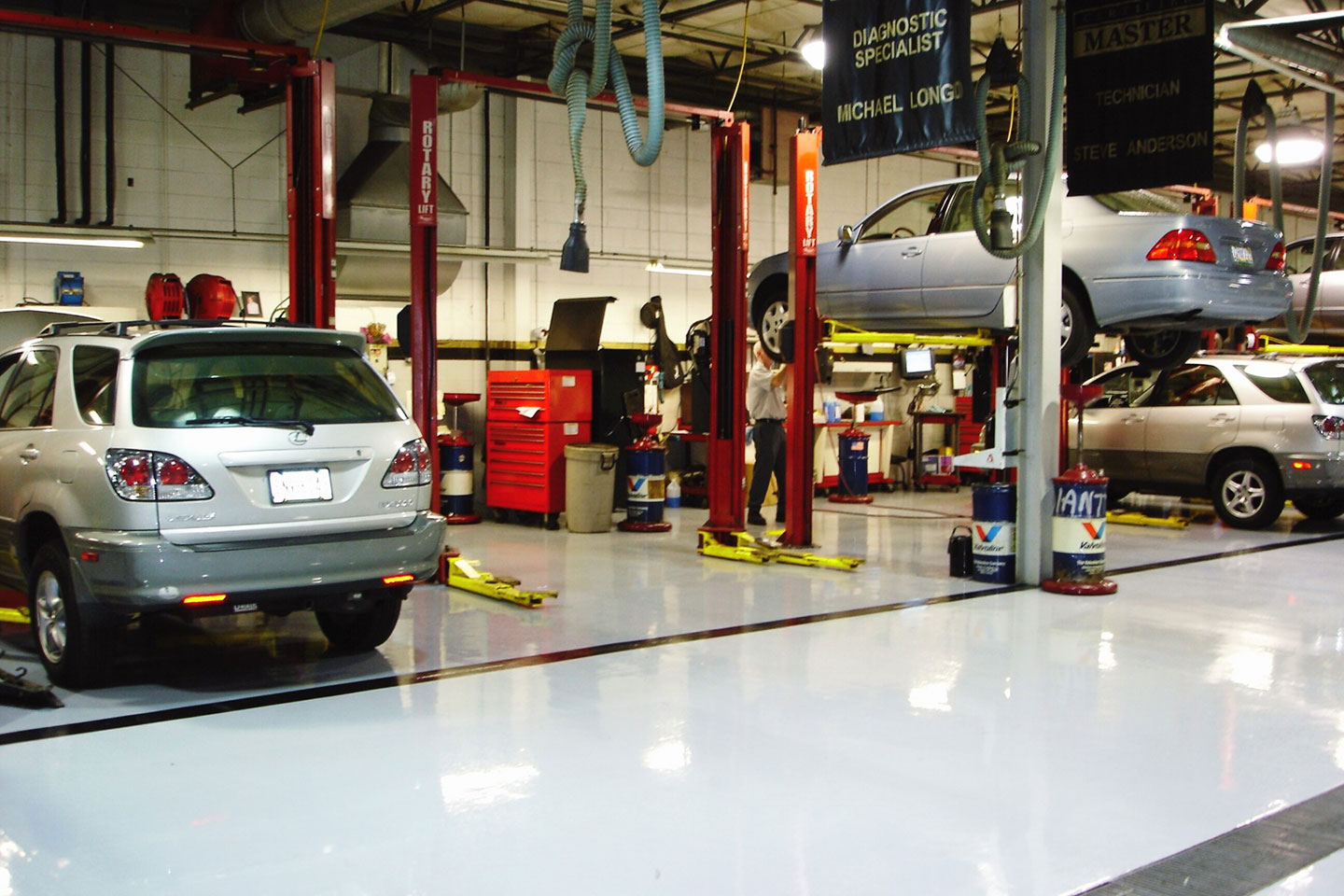 Automotive Bay Flooring Options