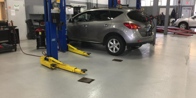 Automotive Bay Flooring