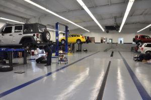 Automotive Bay Flooring