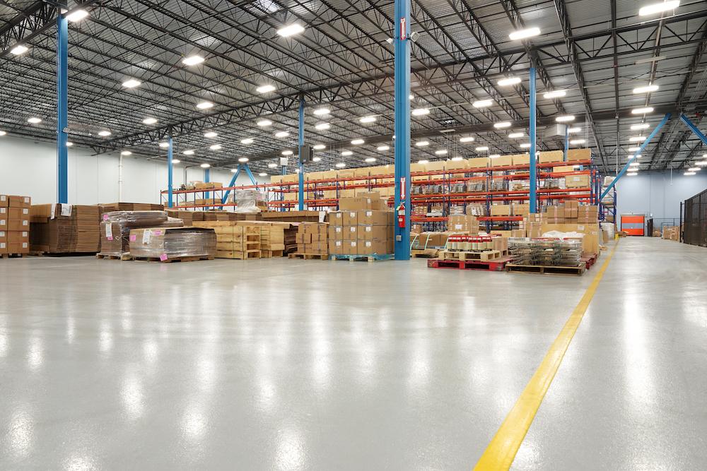 Manufacturing warehouse flooring
