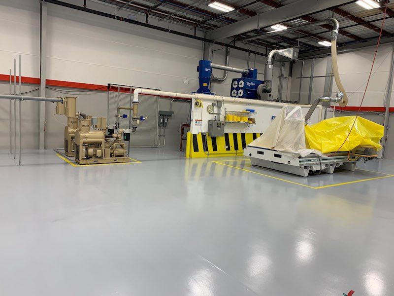 Electronic Manufacturing Floor Coatings