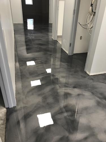 Decorative Metallic Floor Coatings