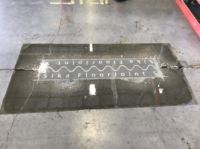 Floor Joint repair