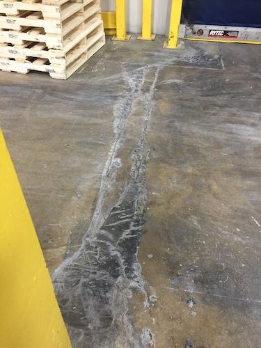 Floor Joint repair before